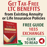 1035 Exchanges - long term care insurance - 1035 exchange life insurance - 1035 exchange annuities