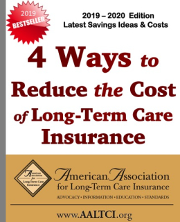 ways to save long term care insurance
