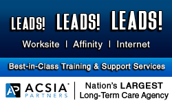 Contact ACSIA Partners for long term care insurance training and leads