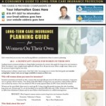 long term care insurance guide for women on their own