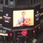 Times Square Billboard Features Long Term Care Insurance Association Director