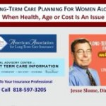 long term care insurance planning for single women