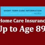 Home care insurance up to age 89