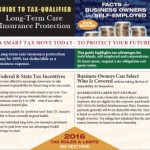 2016 guide to tax deductible long term care insurance