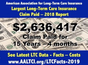Long term care insurance claims 2019
