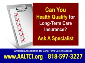 Long term care insurance costs and health