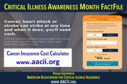 Critical illness insurance cost calculator