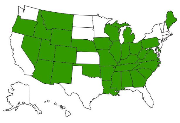 Medico Recovery Care Approved States